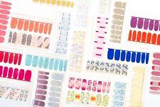 Color Street Nail Polish Strip Sets New Solid Glitter 2020