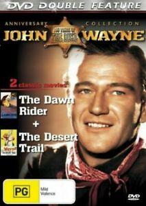 John Wayne Double Feature (DVD, 2001, R0 - All Regions ) - NEW SEALED -