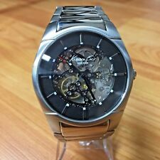 EXCELLENT KENNETH COLE KC3898 MEN'S SKELETON AUTOMATIC WATCH - WORKS GREAT!