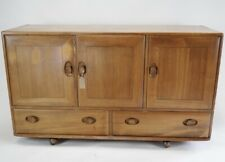 Vintage Ercol Windsor Sideboard in Blonde Model 468 - 1960's Cabinet Cupboard