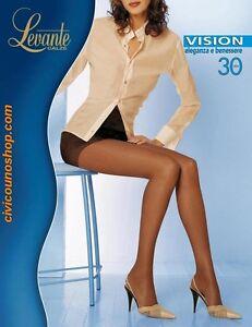 ABBIGLIAMENTO Levante Vision 70 Denari Collant NERO Intimo Nuove NER46597 ABBIGL