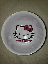 Hello Kitty Sanrio Ramen Soup Bowl Cup Zaki Designs Melamine Plastic 2013