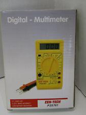 New listing Nib Old Cen-Tech Digital Multi Meter P35761