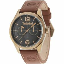 Timberland Middleton 15018JSK/02 Men's Watch With Brown Leather Strap
