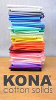 Kona Cotton Solids - Robert Kaufman - 100% Cotton - Fabric - Solid Colours