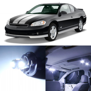 11 x White Interior LED Lights Package For 2000- 2007 Chevy Monte Carlo +TOOL