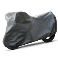 """Water Resistant Heavy Duty Deluxe Motorcycle Cover Harley Street Glide 120"""" L"""