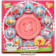 10 PACK LALALOOPSY ROSY'S PET HOSPITAL JEWLERY MINI FIGURES GIRLS TOYS BUY