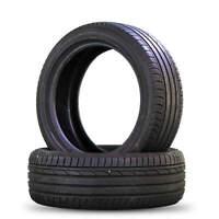 2x Sommerreifen Reifen Bridgestone Turanza T001 215/50 R18 92W DOT 3617 7,5 mm