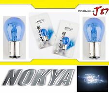 Nokya Light 1157 White 21/5W Nok5214 Two Bulbs Front Turn Signal Replacement OE
