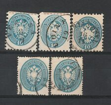 FRANCOBOLLI 1863/65 LOMBARDO VENETO 10 SOLDI Z/1255