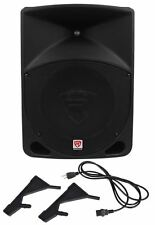 "Rockville RPG10 10"" Powered Active 600 Watt 2-Way DJ PA Speaker System"