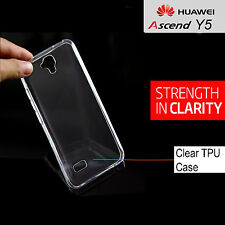 Telstra Prepaid Huawei Y5 Clear TPU Protective case cover for Huawei Y5