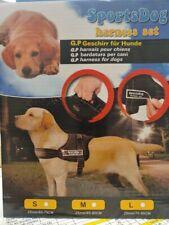 Nylon Service Training Dog Harness Vest Padded Heavy Duty XL Pitbull Husky Boxer