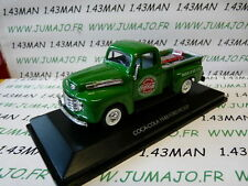 macchina 1/43 MOTOR CITY : FORD PICK-UP COCA COLA + carrello e bottiglie