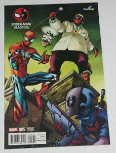 SPIDER-MAN / DEADPOOL #5 (2016) HASTINGS VARIANT MARVEL COMICS NM 9.4 to 9.6