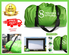 Outdoor Inflatable Movie Screen Projector Storage Bag Heavy Duty Water Resistant