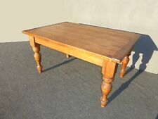 INDUSTRIAL Farmhouse Butcher Block Rustic Plank Dining Room TABLE French MEXICO