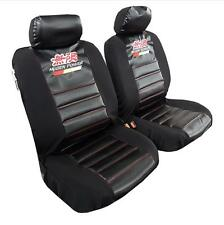 New Arrival 2pcs Mugen Car Seat Cover Carbon Fabric Universal Size For Honda
