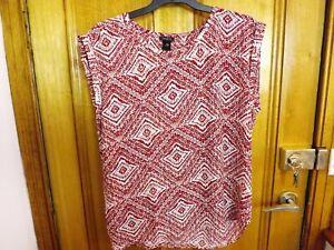 Ann Taylor / Loft Red Top ~ NEW / UNWORN ~ Size XL or 16