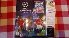 PANINI ALBUM VIDE  + SET COMPLET  FOOTBALL UEFA CHAMPIONS LEAGUE 2009/2010