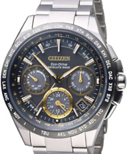 Citizen ECO DRIVE attesa SATELLITE WAVE IN TITANIO CC9015-54F