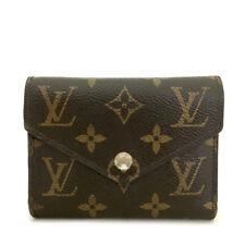 Louis Vuitton Monogram Portefeuille Victorine Trifold Wallet /A0127