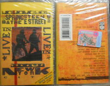 """BRUCE SPRINGSTEEN & THE E STREET BAND»LIVE in NY""""2 MUSIC CASSETTES RUSSIA OOP"""