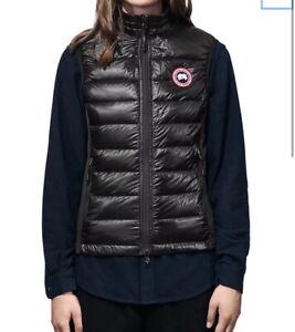Canada Goose Hybridge Lite Black Vest Small Women's