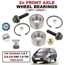 per VW SHARAN 1.8 T- 2.0 2.8 VR6 1.9 TDI 1995-2010 asse anteriore CUSCINETTI