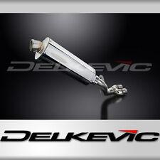 """Honda CBR1000RR de-cat 14"""" Stainless Oval Muffler Exhaust 08-11 12 13 14 15 16"""