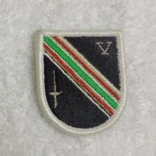 ARMY PATCH, AIRBORNE BERET FLASH, TASK FORCE DAGGER, 2001-2004, 5TH SFG