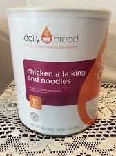 Daily Bread  Food Storage Chicken a la King & Noodles 11 servings #10 Can