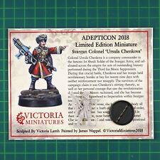 Svargan Colonel AdeptiCon 2018 Limited Edition Victoria Miniatures