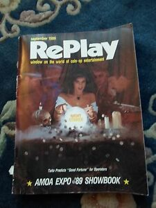 coin-op AmusementsSeptember 1989 REPLAY MAGAZINE:vol 14 number 12