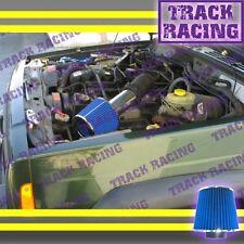 99 00 01-04 JEEP GRAND CHEROKEE LAREDO 4.0L I6 4.7L V8 AIR INTAKE KIT Blue S