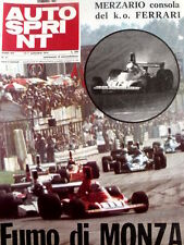 Autosprint 37 1974 26 anni di Porsche - Arturo Merzario consola FERRARI [Sc.40A]