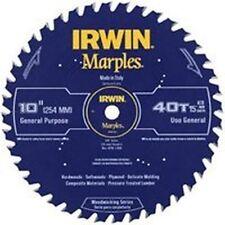"NEW IRWIN 1807367 MARPLES 10"" X 40 TPI ALL PURPOSE  CARBIDE CIRCULAR SAW BLADE"
