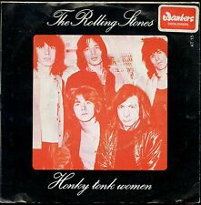7inch THE ROLLING STONES honky tonk woman HOLLAND EX +PS