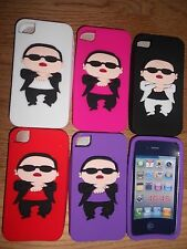 Iphone 4 4s Funda estilo Gangnam Psy Bang ordenado Keep Calm