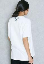 "Adidas Originales xbyo T-Shirt Blanco BK2299 Loose Fit REFLECTANTE ""X"" atrás Top (M)"