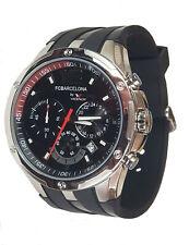 Barcelona Football Chronograph Watch Viceroy Reloj  Mens Silicone Strap Gift