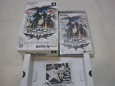 7-14 Days to USA. USED PSP Black Rock Shooter The Game WRS Charm Box. Japanese