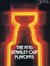 1976 Montreal Canadiens vs Philadelphia Flyers Stanley Cup Playoffs Program