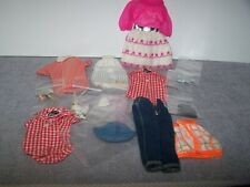 Vintage Barbie Lot Clothing and Accessories 13 pcs