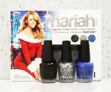 OPI Holiday 2013 Mariah Carey Mini 3 Pack Liquid Sand 3pc Trio Set 1 Minis HLE31