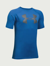 Under Armour Kid's UA Tech Big Logo T-Shirt - YMD (9-10) - Blue
