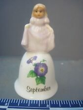 Russ Berrie & Co. Monthly Bell September With Girl On Top