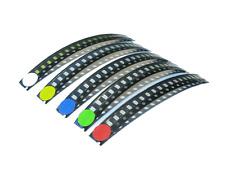 LED SMD 1206 Sortiment 100 Stück 5 x 20 Stück rot blau grün gelb weiß super hell