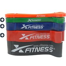 xFitness Pull Up Assist Resistance Bands For CrossFit - #2 #3 #4 Set, 30-125 lbs